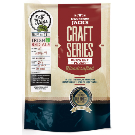 Irish Red Ale |2.2kg com DRY HOPS