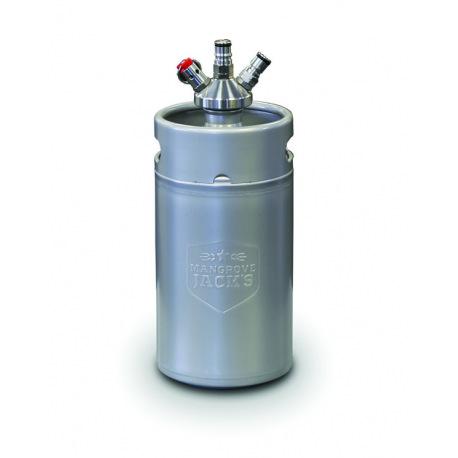 Mini Keg 3L com válvula de engate Ball Lock