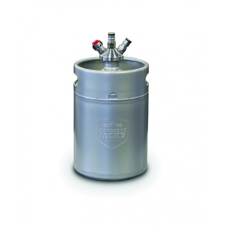 Mini Keg 5L com válvula de engate Ball Lock
